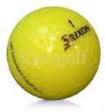 50 Srixon Trispeed Tour Yellow Mint Used Golf Balls AAAAA