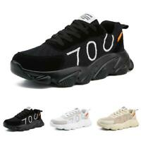 Men's Mesh Breathable Lace Up Vogue Leisure Outdoor Running Sport Sneakers Shoes