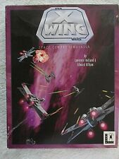 Star Wars X WING PC Game has Original Box 5 IBM 3.5 Floppy Disks, Manuals 1992