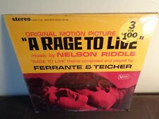 A RAGE TO LIVE nelson riddle OST SOUNDTRACK united artists / ORIG 1965 LP SEALED