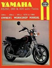 Yamaha XS250, 360 and 400 Sohc Twins No. 378 by John Haynes and Mansur...(1993)