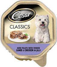 Cesar Alu Tin Classic Lamb & Chicken in Jelly 14 X 150 g