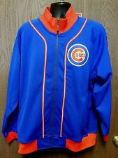 MItchell & Ness MLB Chicago Cubs Wrigley Field Zip Up Jacket size L