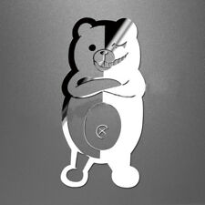 3X Dangan Ronpa Danganronpa Sticker Monokuma Metal Badge Phone Sticker