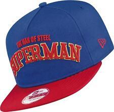 BNWT NEW ERA SUPERMAN MAN OF STEEL 9FIFTY SNAPBACK BASEBALL CAP S/M 54.9-59.6CM