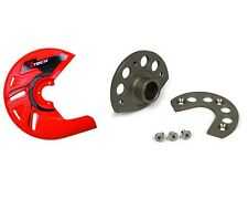 Rtech Brake Disc Mount & Neon ORG Protector KTM SX SXF EXC F 125 450 525 04-14