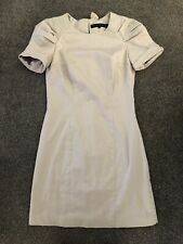 French Connection Cream Bow Fitted Dress Size 10 Stunning Party Dress