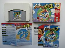 Snowboard Kids 2 (Nintendo 64, 1999) Near Complete CIB Manual Boxed Set RARE N64