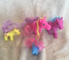 My Little Pony Set Of (4) Bath Toys Soft Plastic