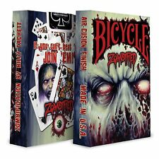 1 Deck Bicycle Zombified Standard Poker Playing Cards Sealed New In Box
