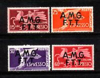 Italy- Trieste #E1-4 Mint O.G.       Catalog $190.85
