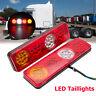 2x Rear Tail Light Lamp 12V 6 Function 36LED Waterproof Trailer Caravan Truck AU