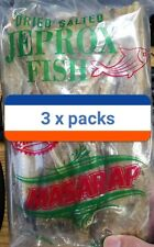 Dried Salted Jeprox Fish Pack of 3 = (150 G Per Pack) Free Shipping