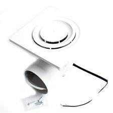 Bathroom Exhaust Fan Ceiling Fan 220V 10W 195×195mm DWV-11DRB KOREA