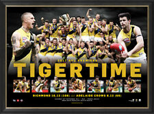 Richmond Tigers 2017 AFL Premiers Official Print Framed Martin - In Stock Now