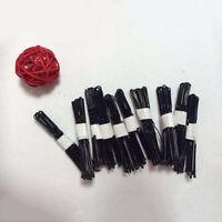 50Pcs High Quality Women Black Hair Clips Pin Metal Thin U Shape Hairpins Pins