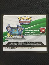 Pokemon 2017 Spring Collector Chest TCGO Online Code
