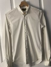 Mens Clothes Zara Men's Slim Fit Dress Shirt  -  US SMALL Top Long Sleeve