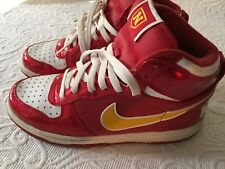 Nike - Size 6Y Hip Top Red Basketball Shoes