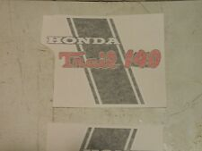HONDA CT70 KHO main frame decal 140 show off what you got!