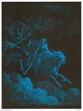 Death Rides a Pale Horse Blacklight Poster Print, 23x31