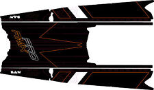 POLARIS RUSH PRO-RMK 600/800 SNOWMOBILE SLED 163 TUNNEL WRAP DECALS 2011-2015