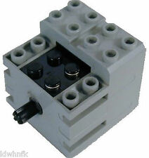 LEGO Mindstorms Light Bluish Gray 9V Mini-Motor, #43362c01 Lighter Version