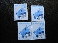 FRANCE - timbre yvert et tellier preoblitere n° 222 x4 n** (dent 13) (A24) (A)