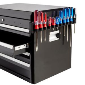 Hansen Magnetic Screwdriver Organizer Holder Rail 11 Slot Made in USA
