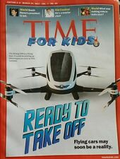 3 for $12》Time for Kids Magazine》Ready to Take Off》March 24, 2017》For Grades 3+4
