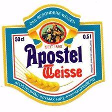 Germany - Beer Label - Apostelbrau, Hauzenberg - Apostel Weisse