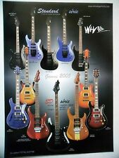 PUBLICITE-ADVERTISING :  Guitares WHALE Standard / SD Séries  12/2004