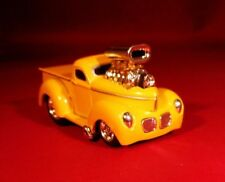 MM WILD BLOWN 1940 WILLYS PICKUP TRUCK WITH & RUBBER TIRES LIMITED EDITION