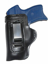 Ruger LC9 /w Lasermax Gun Holster HD RH OWB Black Leather