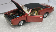 1/43 Dodge Charger R/T 1968 USA Muscle car Diecast Model Franklin Mint