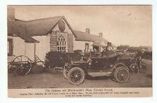 Priest Thos. Johnston Ready For A Motor Run Blacksmith Shop Gretna Green 1918