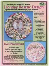 Jean Nordquist's Holiday Rosette springtime/Valentine, mini boxes, rosettes, +