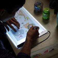 1 Set A4 LED Artist Thin Art Stencil Board Light Box Tracing Drawing Board Gift