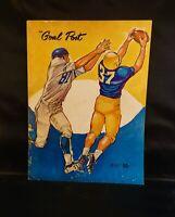 1961 UCLA vs Vanderbilt Football Program - Bob Stevens Kermit Alexander Hull 🏈