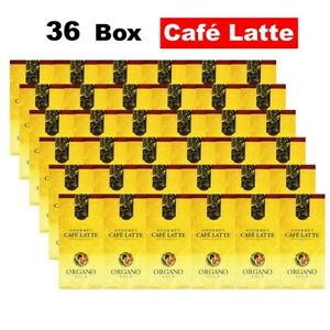 (Express) Organo Gold Cafe Latte 1-36 Box Instant Ganoderma Coffee Exp03/2024