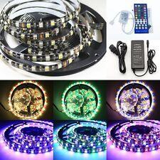 5M 5050 RGBW RGBWW 300 Led Flex LED Strip Light WP 12V & controller & power kit