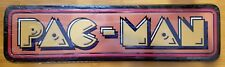 METAL PACMAN ARCADE DECOR* game pinball machine man cave atari cinema nintendo