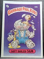 Garbage Pail Kids 1985 GPK Series 2, Soft Boiled Sam 58b Series 2 GPK