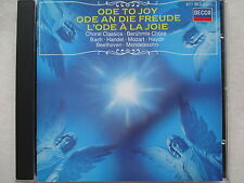 Ode To Joy - Ode An Die Freude - Choral Classics - DECCA CD West Germany no ifpi