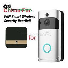 Wireless WiFi Doorbell Chime Ding-Dong Visual Door Bell Smart Receiver AHS