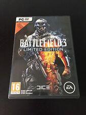 [juego canjear, Caja y discos sólo] Battlefield 3 PC Edition Carcasa