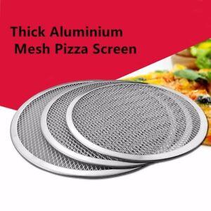 Pizza Stones 6'' to 14'' Reuse Non-Stick Aluminum Mesh Pizza Screen Baking