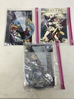 Lot Of 3 Anime DVDs Slayers , InuYasha And Kingdoms