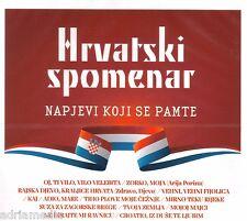 HRVATSKI SPOMENAR CD Napjevi koji se pamte Croatia Hit 2015 Zlatni Dujati Klapa
