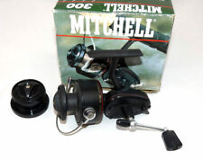 Mitchell 300 vintage spinning reel + carbon spool + makers box OUTLET